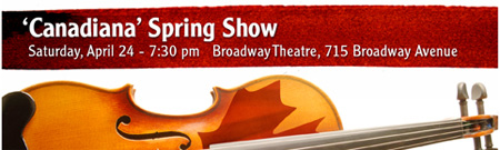 Canadiana Spring Show