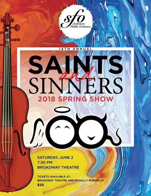 SFO 2018 Spring Show poster